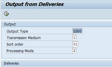 vl71 dosen't print multiple delivery item selected